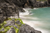 Sea near Bedruthan Steps in Cornwall