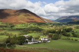Newlands Valley in Cumbria