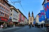 Würzburg. Domstrasse (Cathedral Street)