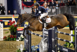 Kent Farrington USA riding Voyeur winner of the Longines FEI World Cup Show Jumping competition at the Royal Horse Show Toronto
