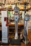 Taps for cold Tennents and Guinness beers and Magners Cider at Taigh Ailean Hotel bar Isle of Skye Scotland UK