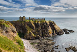 Dunnottar Castle to Crail