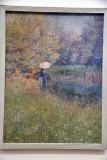 Femme dans un paysage (1890-1892) - Anna Boch - 3960