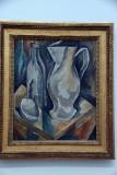Broc et trois bouteilles (1908) - George Braque - 3962