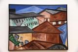 Cityscape, Roofs (1912) - Olga Vladimirovna Rozanova - 3968