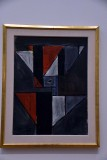 Abstrac Form with Triangles (1936) - Joaquin Torres-Garcia - 3982