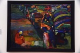 Painting with houses (1909) - Wassily Kandinsky - 4019