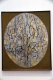 Tableau n°3: Composition in Oval (1913) - Piet Mondrian - 4026