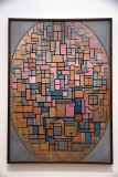 Tableau III: Composition in Oval (1914) - Piet Mondrian - 4028
