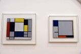 Composition with Blue, Yellow, Red, Black and Grey (1922); Comp. with Yellow, Red, Black, Blue and Gray (1920) - Mondrian - 4034