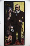 Double-Portrait of the Artist and his Wife Quappi (1941) - Max Beckmann - 4067
