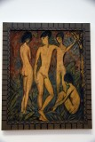 Two young Men and Two Girls (1917) - Otto Mueller - 4085
