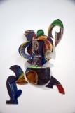 Balustrade Vase #95-5 (1995) - Betty Woodman - 4216