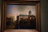 View of the Nieuwezijds Voorburgwal with the Amsterdam City Hall (1670) - Gerrit Adriaenszoon Berckheyde - 5150