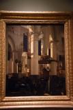 Interior of a Protestant Gothic Church (1670) - Emanuel de Witte - 5158