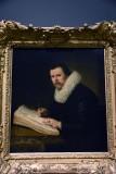 Portrait of a Man Sitting at his Desk (1631) - Rembrandt Harmenszoon van Rijn - 5173
