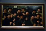 Group Portrait of the Amsterdam Shooting Corporation, Twelve Shooters of E Company  (1563) - Dirck Jacobsz - 5198