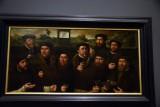 Group Portrait of the Amsterdam Shooting Corporation, Nine Shooters of E Company  (1561) - Dirck Jacobsz - 5203