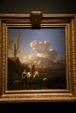Young Peasants Crossing a River (1657-1660) - Karel Dujardin - 5304