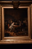 A Game of Tric Trac (1667) - Jan Steen - 5343