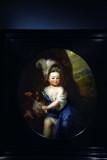 Portrait of Countess Natalya Andreevna Matveeva as a Child (1702) - Godefridus Schalcken - 5352