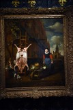 Slaughtered Pig with View of the Haarlemmerpoort in Amsterdam (1668) - Michiel van Musscher - 5357