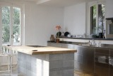 Stainless steel Custom made kitchen  house design