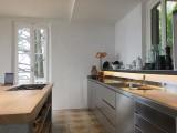 arredare la casa con mobili in inox piano di lavoro in inox