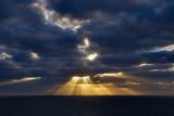 Amazing crepuscular rays