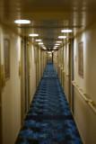 Noordam Navigation deck hallway