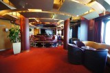 Eurodam's piano bar