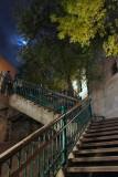 Looking up the Escalier Frontenac