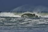 Boca Beach, hurricane Sandy waves