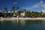 Renaissance beach hotel in Aruba