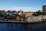 Willemstad fort walls