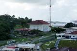 Panama Canal Gatun Locks offices