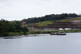 Panama Canal new locks dig area