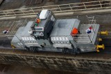 Panama Canal tug train