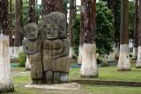 Limon park statues