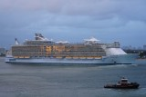 Oasis of the Seas in Port Everglades