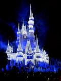 Castle Christmas lighting