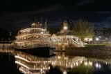 Liberty Belle at night