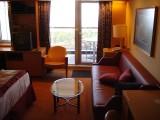 SS 8043 veranda door and couch