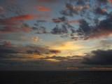 Artist's palette sunset sky