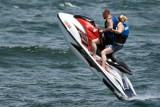 Tail-heavy jet-ski jump