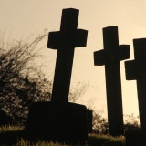 6:365 three sombre crosses