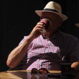 201:365Downing his coffee