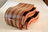 wave bandsaw box