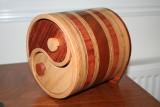 my first yin yang bandsaw box