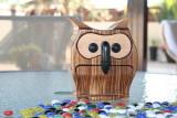 bandsaw box owl